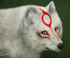 Mother Amaterasu by DivineNymph