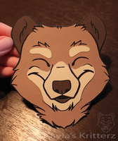 New Logo/Cut out badge by BlueWolfCheetah