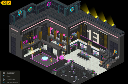 Club 13 - Party room by Lannyhabbo
