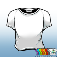 T-Shirt Template by zombie