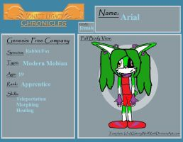 SLC Profile Arial by Lenahedgie