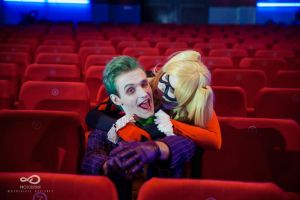 Joker and Classic Harley 6 by ThePuddins