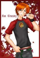 Autumn + Ron Weasley + by Cho-Hakkai