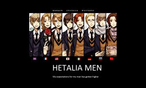 Hetalia Men by SweetKitty999