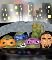 Tmnt by Bicabo
