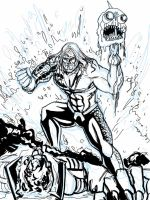 Aquaman: To The Bone - SKETCH by Theamat