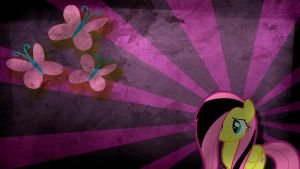 Fluttershy sad Wallpaper by KennyKlent