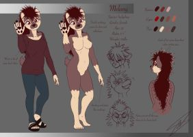 Melony Character Sheet by ThreadandClaws