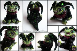 Creeper Critter Baby Dragon by Si3art