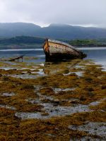 Derelict boat by KayTeez