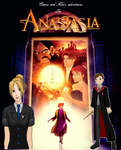 Cassie and Alec's Adventures in Anastasia Poster by Silver-Fox-Princess