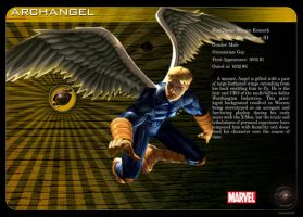 Gay Superheroes: Archangel by mongski