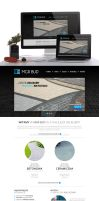 website template for MGRBUD by benny89sl