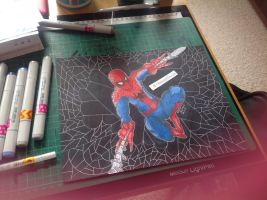 SpiderMan by CreamInAllMinds