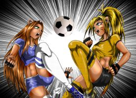 Soccer Kitten by Axcido
