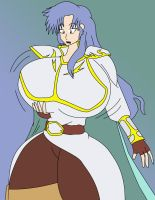 Commission: Fire Emblem: Busty Selfina by IGPHHangout