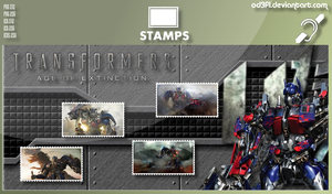 Stamps - 2014 - Transformers Age Of Extinction by od3f1