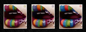 candy lips by Teryxxx