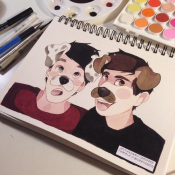 dog filter phan by sarehkee
