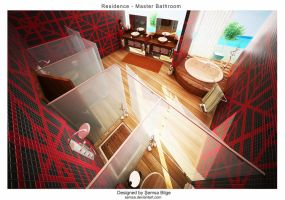 R2-Master Bathroom 4 by Semsa