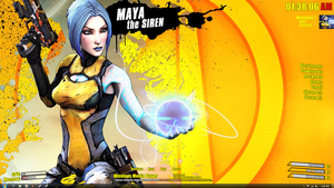Borderlands 2 Rainmeter Theme by calvis101