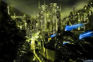 Cyber City 20 A '1' by whistlerdq
