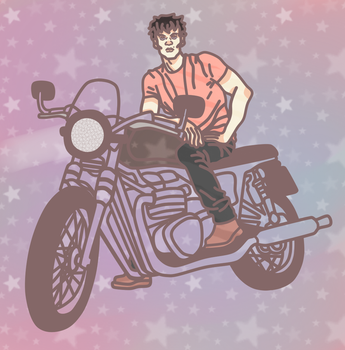 Motorcycle by Social-Cannibal
