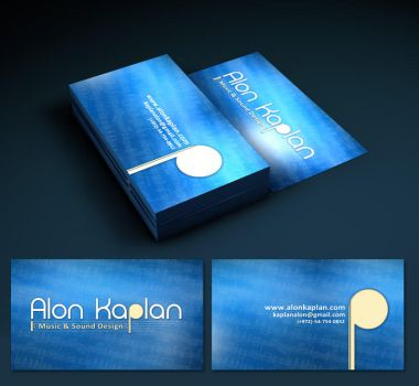 Music Composer Logo and Card by maigrane