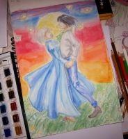 howl and sophie by lady-leliel