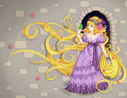 1810s Rapunzel by labrattish