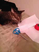 baby learns the wonders of cross stitch by cat-smith