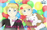 happy b day amerca and canada by tora-elena