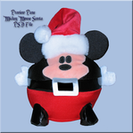 Two Mickey as Santa PSD File by WDWParksGal-Stock