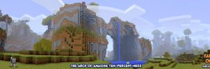 Arch of Amazing Ten-Percent-ness - FLoB Panorama by kurtjmac