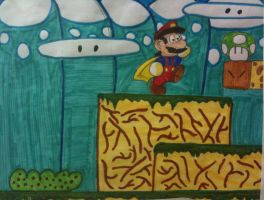 Super Mario World by WhiteLionWarrior