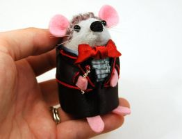 Jon Pertwee The Doctor Mouse by The-House-of-Mouse