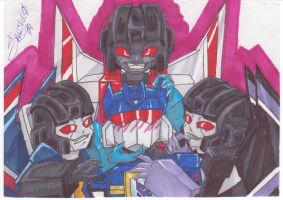 9 Rings Trine and Soundwave by Sanjuno