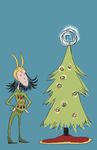 The Perfect Tree Topper by queen-of-the-dorks