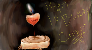 Happy 16th Birthday Connor by Angeli-The-Icefairy