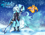 Dust an Elysian Tail: Dust and Fidget by chizuchiyoko
