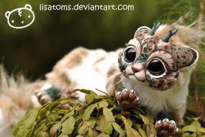 Lynx Chibi Dragon Spirit by LisaToms