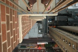 Don't Look Down.... by bewing