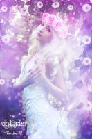 CHLORIS_goddess of flowers and the spring by theenaLuv12