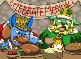 Meridell Celebration Feast by leedom111