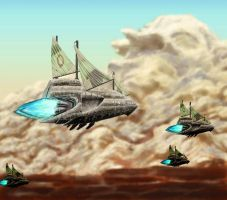 Fish and Ships by Iggy452001