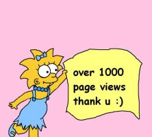 over 1000 page views by tigertaiga