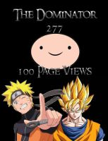 100 page views by thedominator277