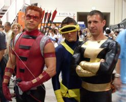 Red Arrow Cyclops Black Adam by mjac1971