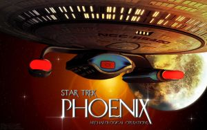 Star Trek Phoenix - Wallpaper by Joran-Belar