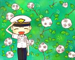 Police and flowers by twosugars16